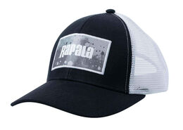 Rapala Splash Trucker Cap - Black/Grey