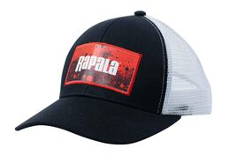 Rapala Splash Trucker Cap - Black/Red