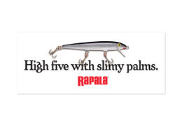 Rapala® High Five With Slimy Palms Decal