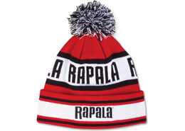 Rapala® Pom Beanie - Red Black