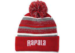 Rapala® Pom Beanie (Red with White Logo)
