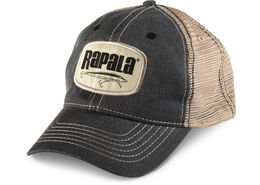 Rapala® Logo Patch Trucker Hat - Black