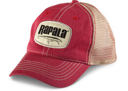 Rapala® Logo Patch Trucker Hat - Red