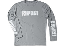Rapala® 3 Logo Long Sleeve Performance - Sport Grey