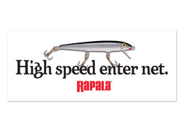 Rapala® High Speed Enter Net Decal