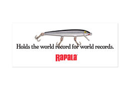 Rapala® World Record Decal