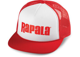 Rapala® Snapback Trucker Cap - Foam White Red