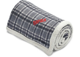 Rapala® Plaid Sherpa Blanket