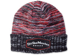 StrikeMaster® Pom Beanie - Vintage Red