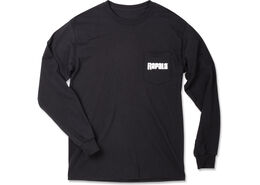 Rapala® Long Sleeve Pocket T-Shirt - Black