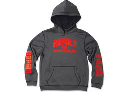 Rapala® Youth Pro Staff Hooded Performance Sweatshirt - Grey