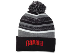 Rapala® Pom Beanie (Black with Red Logo)