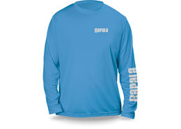 Rapala® Core Long Sleeve Vivid Blue White