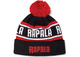 Rapala® Pom Beanie - Black Red White