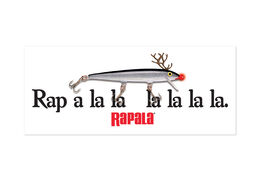 Rapala® Rap A La La Decal