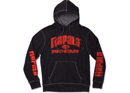 Rapala® Pro Staff Hooded Performance Sweatshirt - Black