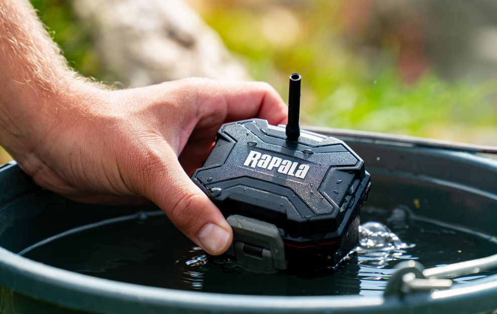 The Rapala RCD Compact Floating Aerator