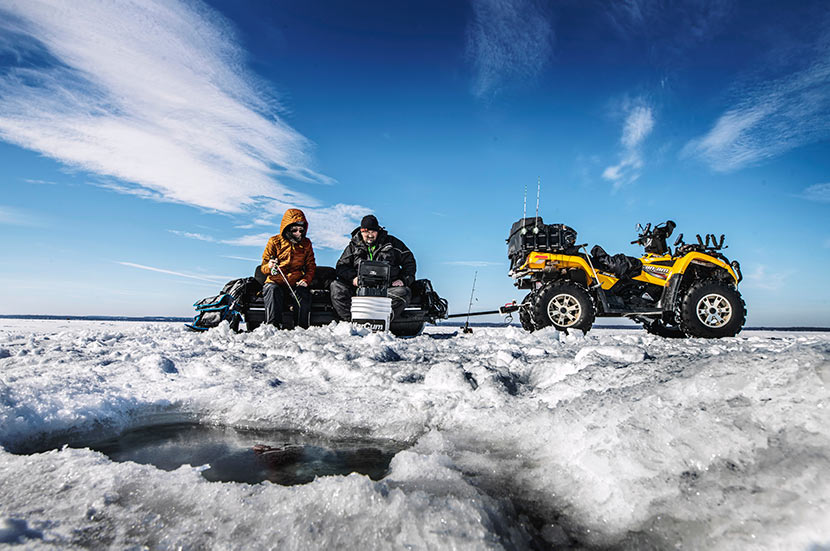 Rapala® tools make ice fishing easier and more enjoyable