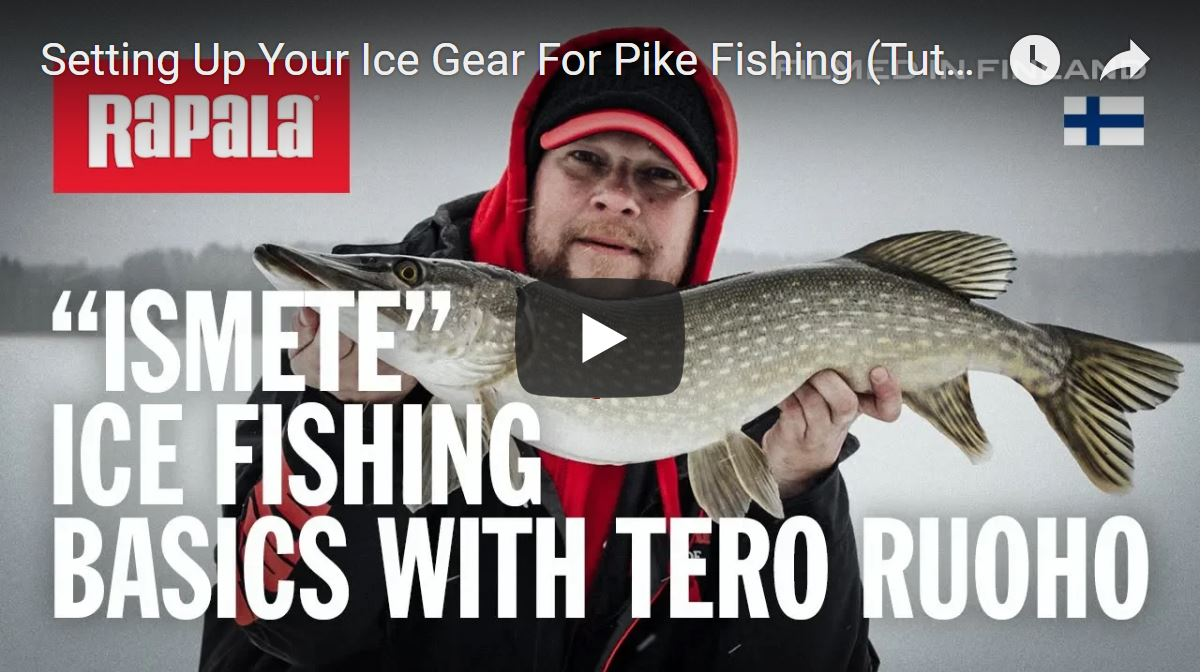 Ismete Ice Fishing Basics