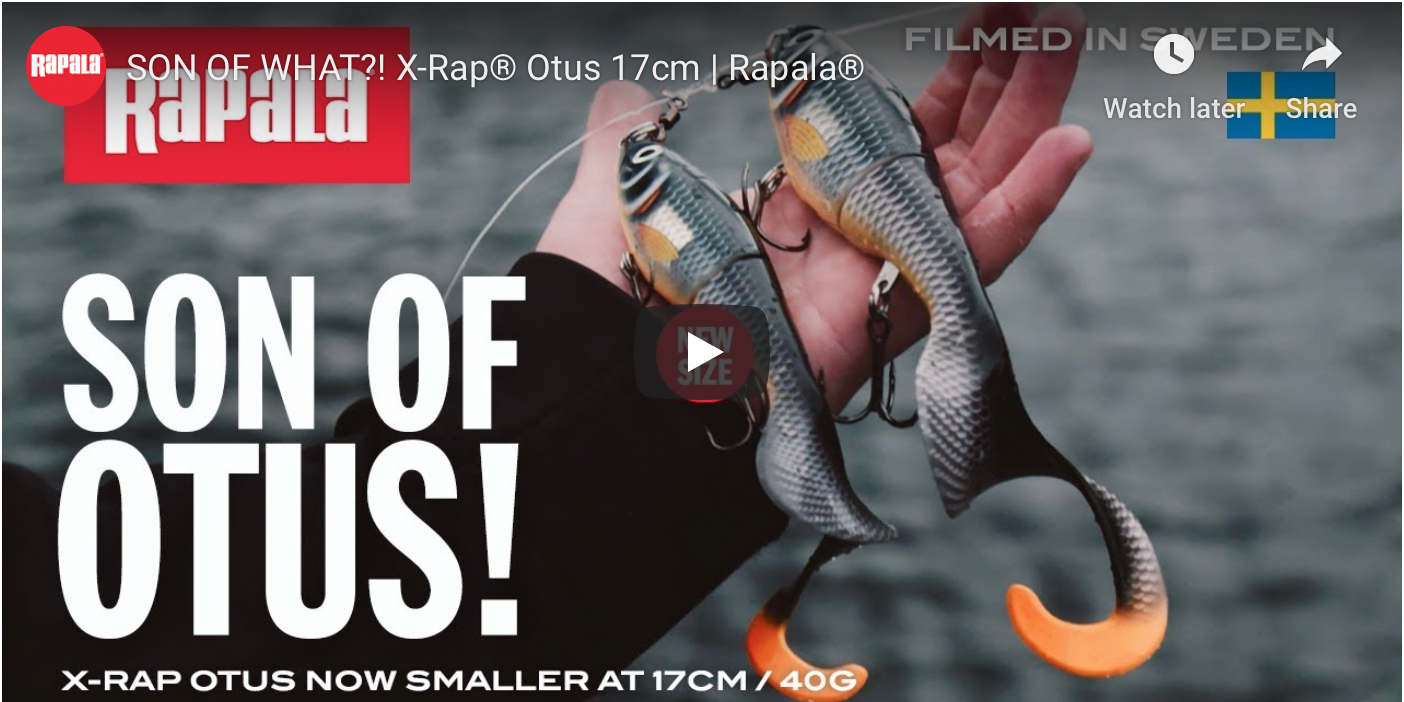 X-Rap Otus - Now available in 17cm / 40g