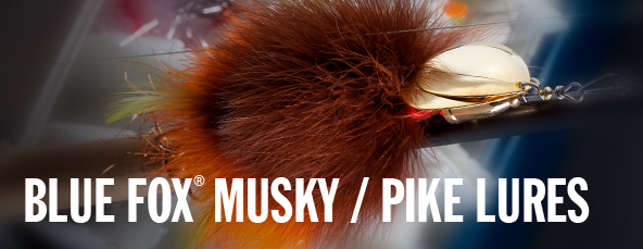 Blue Fox Musky/Pike Lures