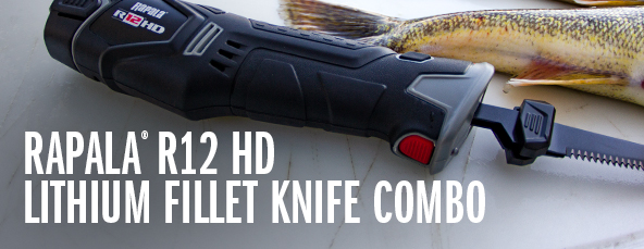 R12 Heavy-Duty Lithium Fillet Knife Combo