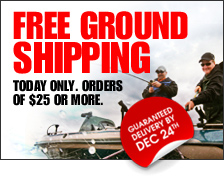 Free Ground Shipping Today Only