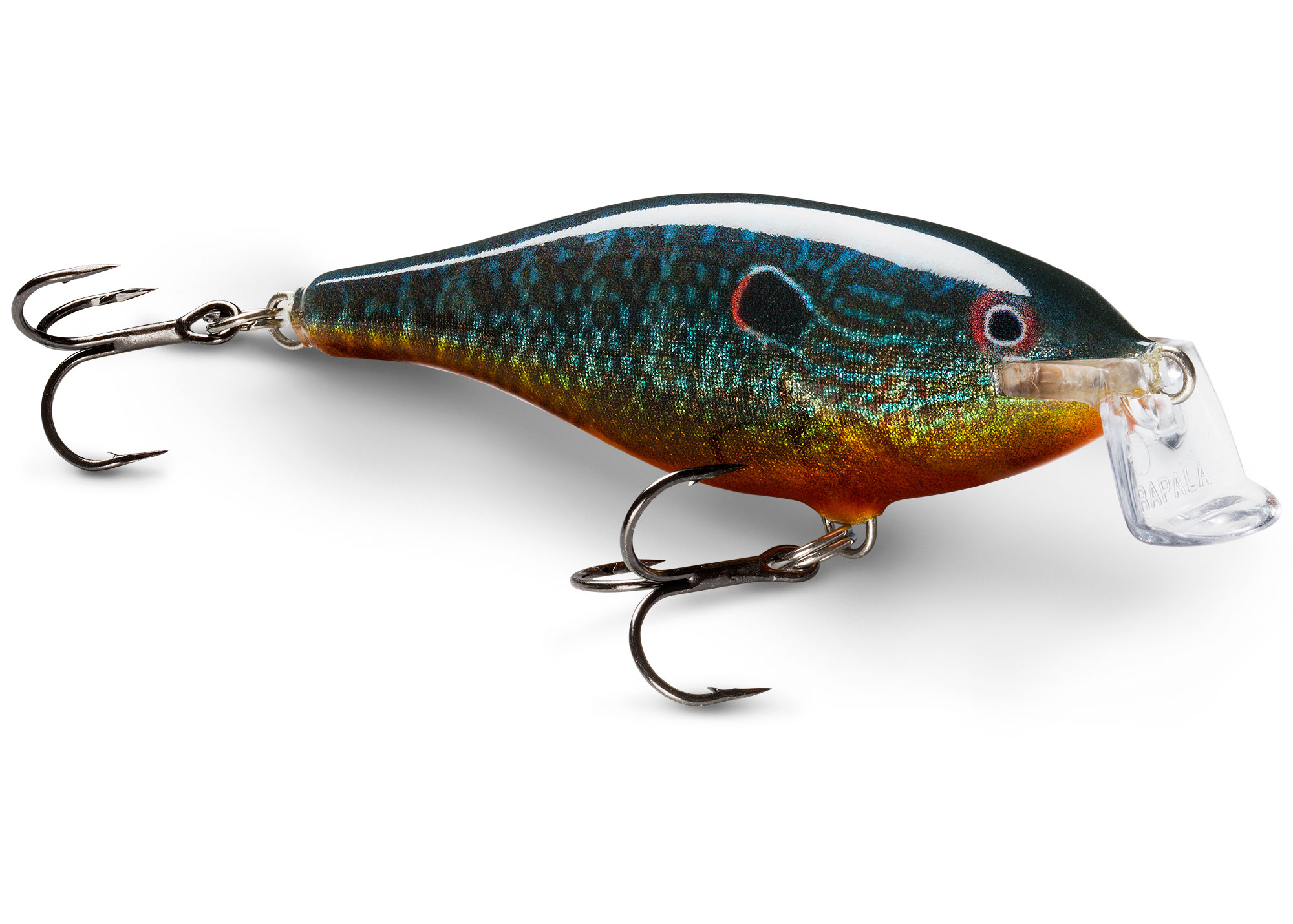 Rapala Shallow Shad Rap 7cm SSR07 HT Hot Tiger
