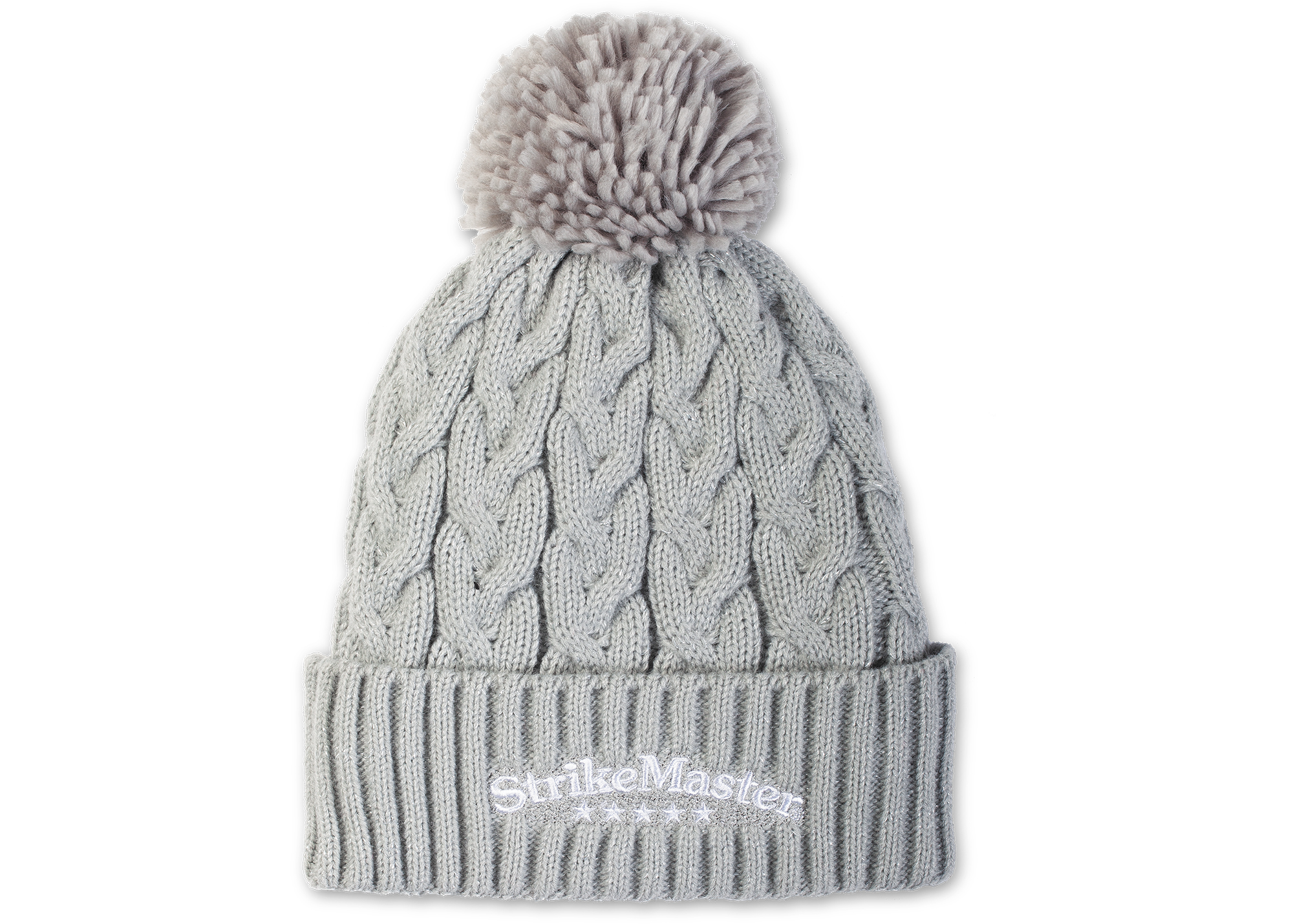 StrikeMaster® Pom Beanie Ladies - Snow