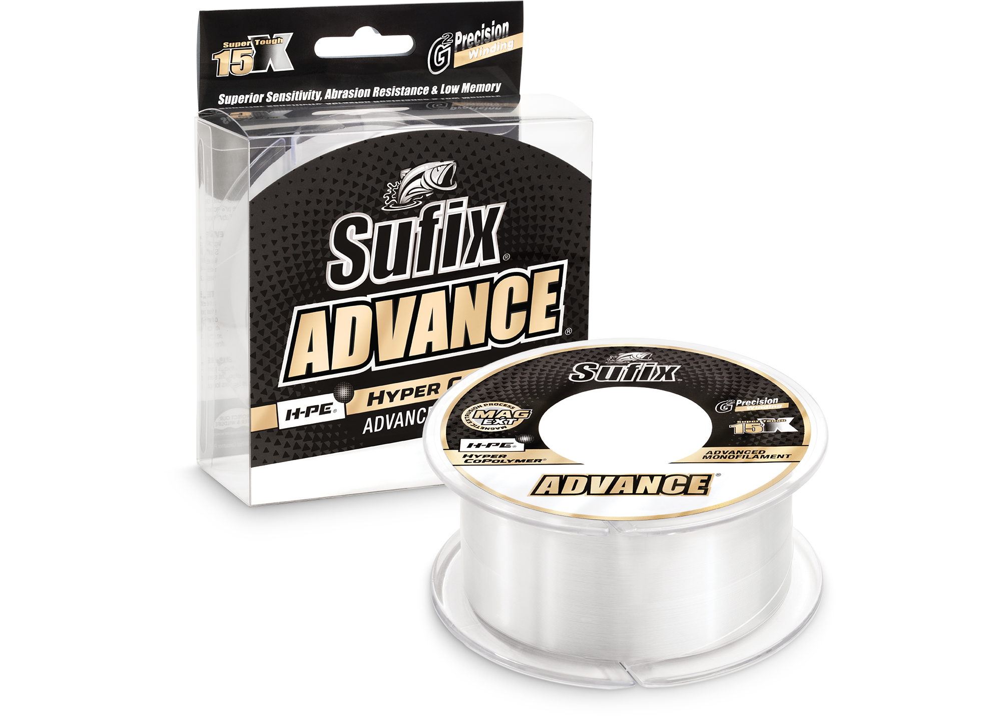 Advance™ Monofilament<ul><li>The Mono That Thinks It's A Braid</li></ul>