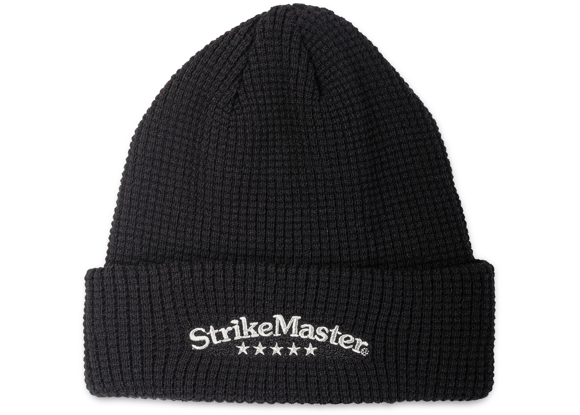 StrikeMaster® Beanie - Knitted Black