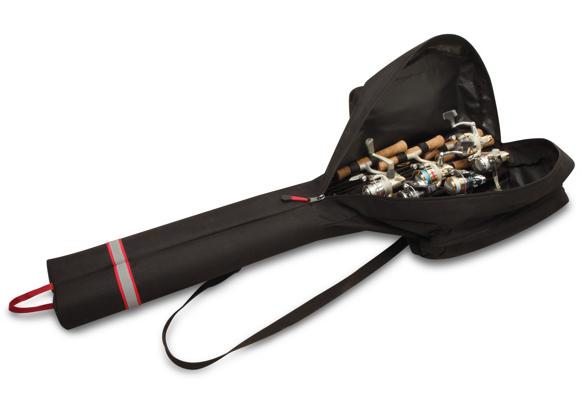 Double Barrel Ice Fishing Rod Case