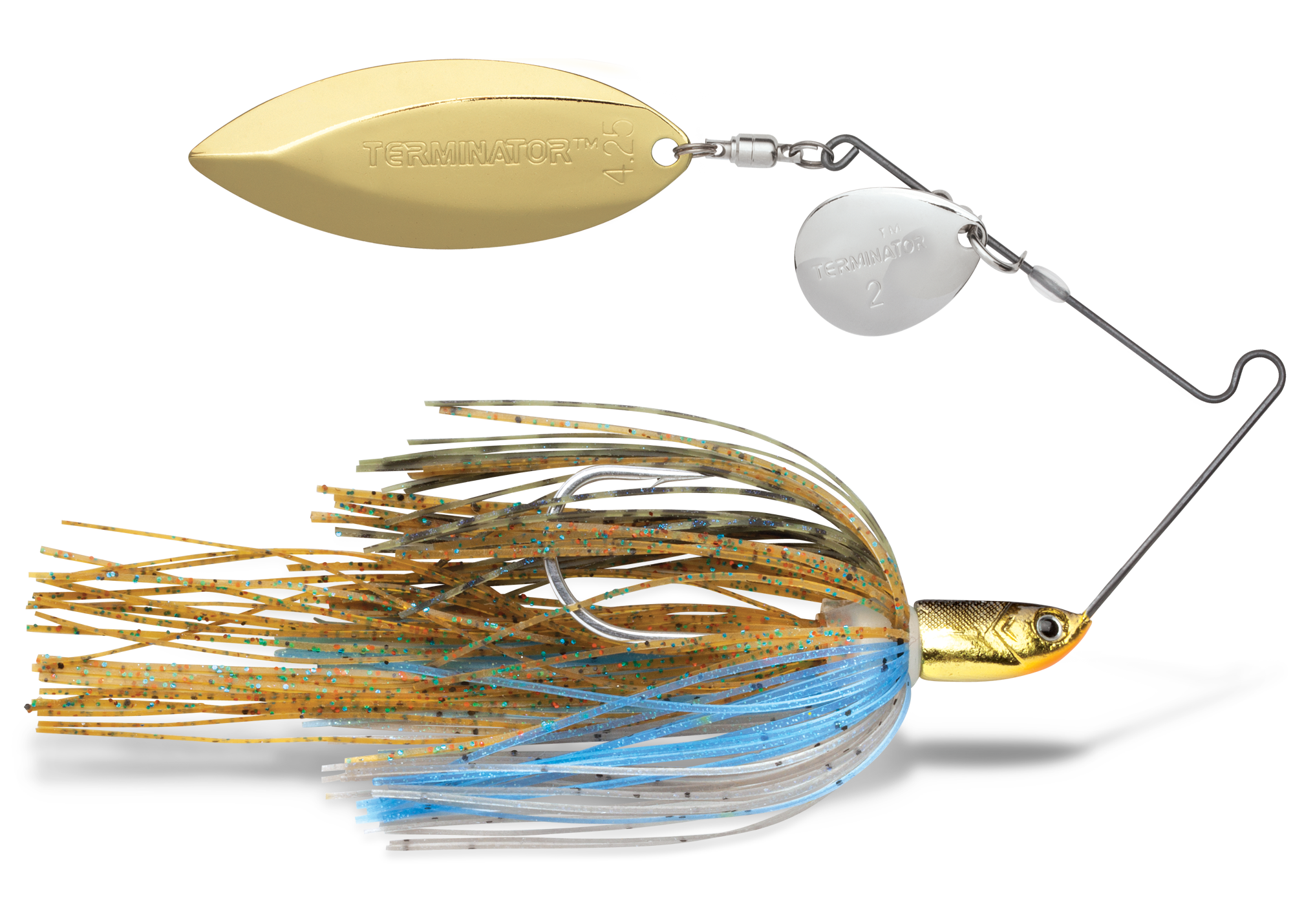 T-1 Original Titanium Spinnerbaits with Power Pulse QuickSkirts