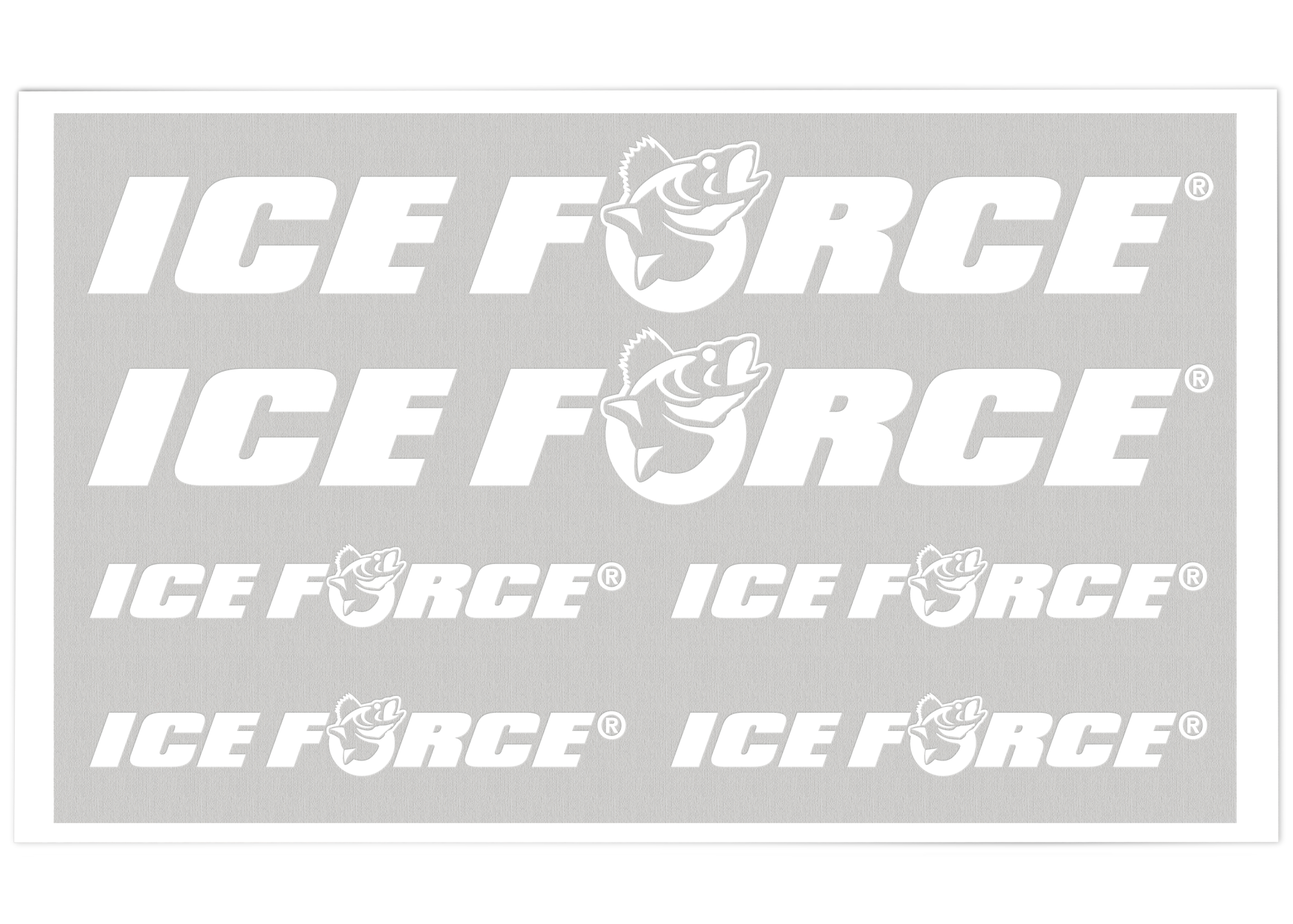 ICE FORCE® Pro Staff Decals Bulk