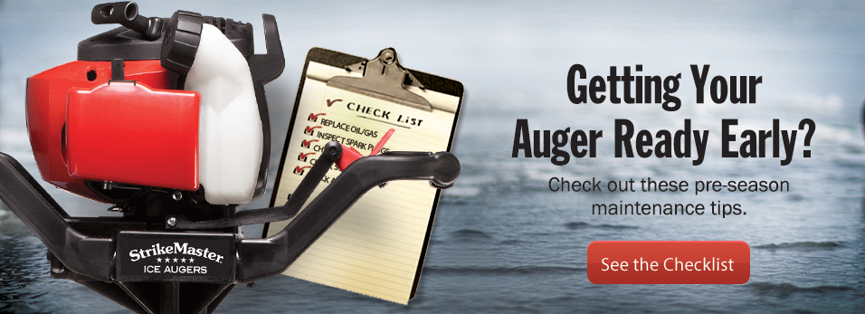 Getting Your Auger Ready Early?