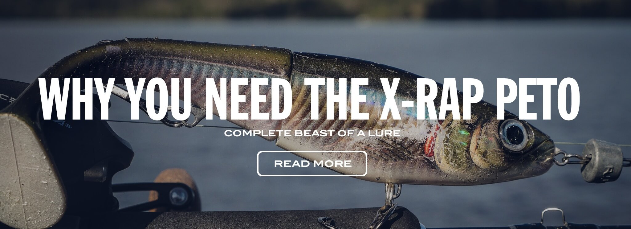 X-Rap Peto - complete beast of a lure!