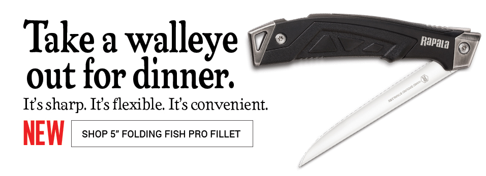 5in Folding Fish Pro Fillet